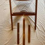 Details - String chair von Niels J. Haugesen, für Tranekær, 1980er, Dänisch