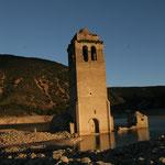 Mediano, village sous les eaux
