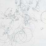 Kristin Finsterbusch, L 4, Zeichnung, Bleistift, Farbstift, 2009, 20x20 cm