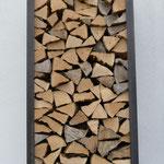 Brennholz / Holzbeige Metallrahmen