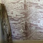 BALTIC SEA ist eine handgedruckte Tapete von PRINT GARDEN Tapetenmanufaktur in Hamburg