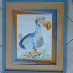 biseau perroquet de Dominique