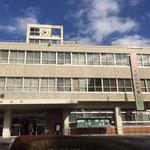 松戸市役所での懸垂幕掲示