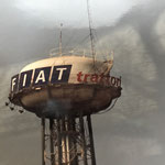 Fiat Traktor Wasserturm