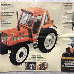 Fiat Traktor Serie 80 Poster