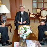 with H.E. Veerasak Futrakul , Deputy Minister of Foreign Affair