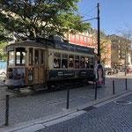 die alte Strassenbahn