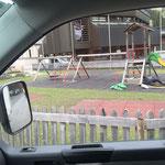 Reparaturarbeiten Spielplatz Schule