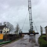 woensdag 13 maart: werk aan Niesternweg onderbroken; verder bij de haven