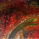 -im Herbst- 40cmx 30cm, Acryl auf Leinwand, fluoreszierend