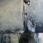 231  Luft schnappen, Acryl auf Leinwand,  Karin Lesser-Köck, 50 x 70 cm