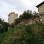 Unsere erste Wanderung führt uns zur Burg Saaleck...