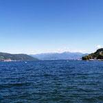 Prima Aussichten auf den Lago Maggiore, ...