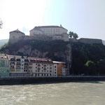 ... und blicken auf die Burg Kufstein