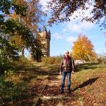 Bei bestem Herbstwetter geht es in unseren Lieblingspark ...