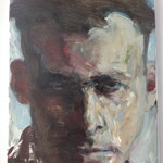 'Witold P'. , 2016 , oil on canvas , 40x50 cm , private collection
