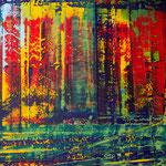 KERSTIN SOKOLL, Jungle Fever, 2020, O024, 120 x 100 cm, SOLD