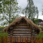 L'isba fut demontée en 2018 et remontée sur la ferme bashkir-cosaque ! Chez nous, même les maisons sont nomades ! Un avantage certain de la maison de rondins (PHOTO 2021 (c) John C)