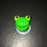"""Motivperle """"3D Frosch"""""""
