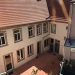 Innenhof des Weinhaus Moser