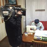 NHKの取材(1/25日夕方の首都圏ニュースにて放映)