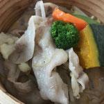 山形県産米の娘ぶたの温しゃぶ定食