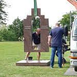 plaatsing monument