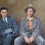 Gemälde 643,Frankie & Johnny , Acryl auf Leinwand, 2020,150 x 180 cm