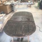 Ploemel Table de jardin