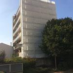 Échafaudage de façade pour travaux d'ITE dans le 92