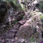Weg auf den Tafelberg über Skeleton Gorge