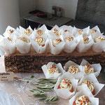 Rustique SemiNake SweetTable, Femke en Petr, Wedding SweetTable Den Bosch