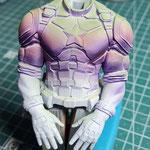 Step 3: Zwischen Farbe ( Kontrastfarbe ) lackieren