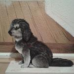 Hund nach Foto (ca. 40 cm hoch)