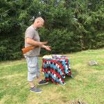 Ruhige Vorbereitung, Markus 45 Ringe