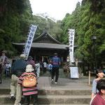 徳重神社でお参り。
