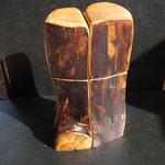 Pfeffermühle, Salzmühle Kirsche Holz Unikat Einzelstück Gewürzmühle handarbeit design Set