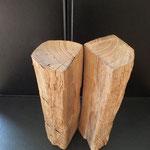 Pfeffermühle, Gewürzmühle alter Eichenbalken Holz