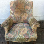 fauteuil anglais avant