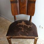 chaise art déco avant