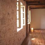 Fenster im Yogaraum