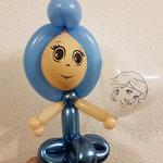 Mädchen Ballon