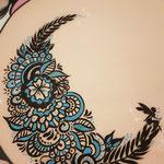 Mandala Bellypainting