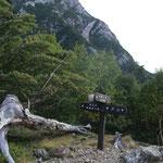 目の前に摩利支天が見える仙水峠、こちらの登山道は人が少なく静か