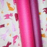 .. hier mit den Luisas in lila (fuchsia) + pink zu sehen ... nicht farbidentisch ABER kombifähig :)