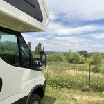 Blick vom Camping Hainaich