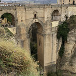 die berühmte Brücke in Ronda