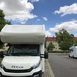 SP Bad Langensalza, ein Parkplatz