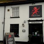 wir fahren bis Hythe, wo unser nächstes Domizil liegt: The Red Lion Pub, unbedingt empfehlenswert!