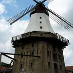 Die Kappelner Windmühle muss man auch gesehen haben, man kann auf die Mühle hoch und hat von dort aus herrliche Aussicht